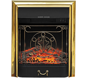 Очаг Majestic FX Brass Royal Flame электрокамин